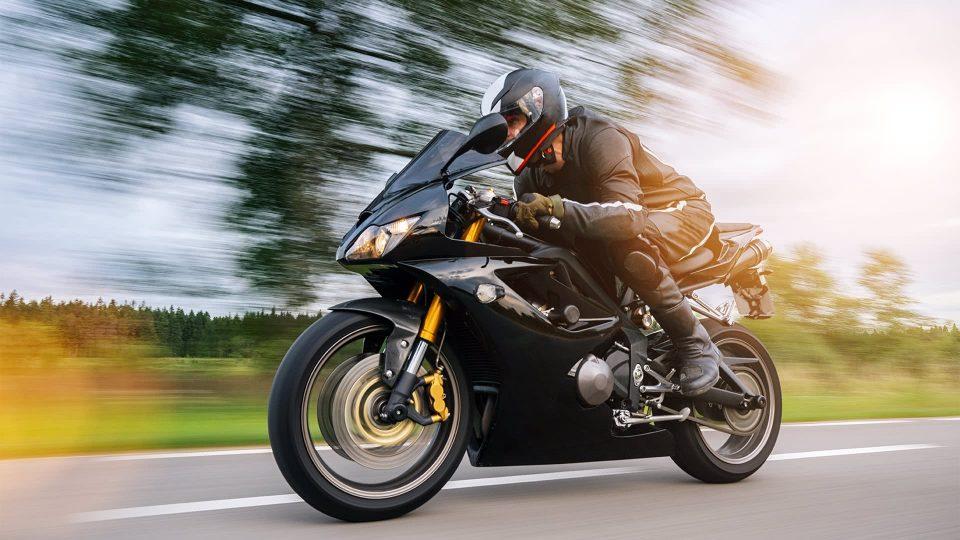 conducir una moto en londres