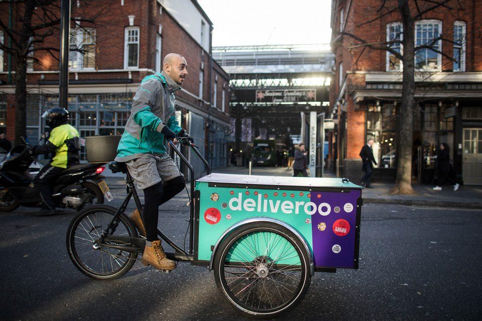 Trabajar como repartidor en bicicleta en Londres