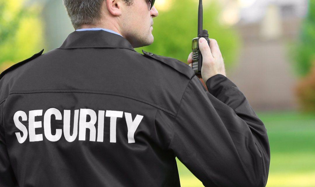 trabajar en londres como guardia de seguridad