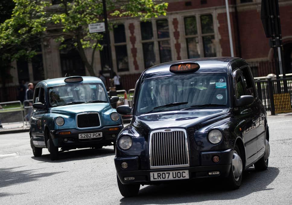 trabajo como taxista en Londres