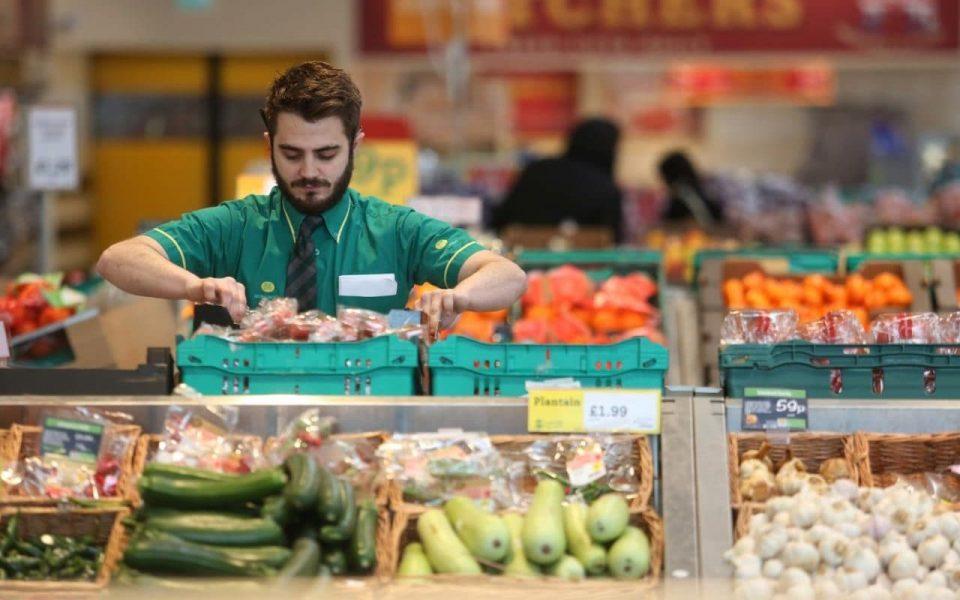 trabajar en un supermercado de londres