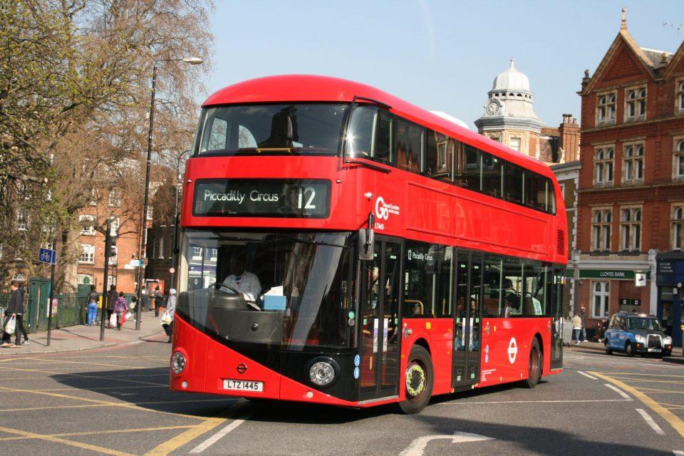 Visitar Londres en autobús